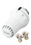 Danfoss SET termostatická hlavica + rohové šrobenie