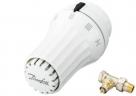 Danfoss SET termostatická hlavica +priamy ventil, západkové upevnenie
