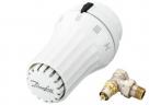 Danfoss SET termostatická hlavica +rohový ventil, západkové upevnenie
