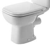 Duravit D-CODE misa WC rovná