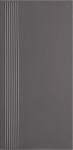 Paradyz DOBLO GRAFIT schodovka 30x60 cm grafitová