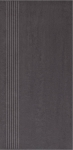 Paradyz DOBLO NERO schodovka 30x60 cm čierna