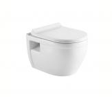 Drop HARDY WC misa závesná rimless + sedátko SLIM SoftClose