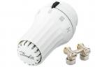 Danfoss SET termostatická hlavica + rohové šróbenie, západkové upevnenie