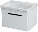 ELLA skrinka s umývadlom 60 cm biela
