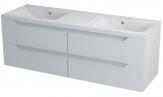 Erra WAVE II skrinka pod dvojumývadlo 150 cm biela
