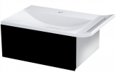 Erra ZEUS skrinka pod umývadlo 60 cm, čierna