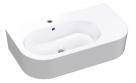 FLO keramické umývadlo 75 cm biele