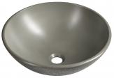 FORMIGO betónové umývadlo na dosku 40 cm šedé