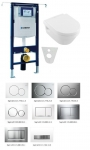 Geberit SET 5 v 1: Duofix Special + Villeroy & Boch Ceramic Plus, DirectFlush, Softclose