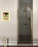 Gelco ANTIQUE retro sprchové dvere 80-90 cm bronz ľavé