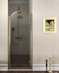 Gelco ANTIQUE retro sprchové dvere 80-90 cm bronz pravé