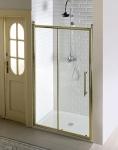 Gelco ANTIQUE retro sprchové dvere posuvné 110/120/140 cm bronz