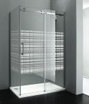 Gelco DRAGON obdĺžnikový sprchový kút 120 x 90 pravý