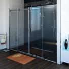 Gelco DRAGON sprchové dvere do niky posuvné 170/180 cm