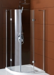 Gelco LEGRO štvrťkruhový sprchový kút 90/100 cm