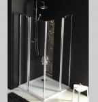 Gelco ONE štvorcový sprchový kút 80 - 120 cm, číre