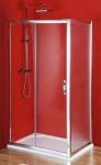 Gelco SIGMA obdĺžnikový sprchový kút 100x70/ 100x80/ 100x90/, brick/číre