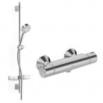Hansa MICRA SET termostatická sprchová batéria s ručnou sprchou a držiakom