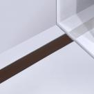 Alcaplast GL1203 650 - 1150 rošt zo skla hnedý 70 - 120 cm
