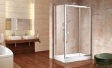 Aquatek HOLIDAY R23 obdĺžnikový sprchový kút 120 x 80 cm