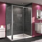 Huppe MY FLEX obdĺžnikový sprchový kút 120/130/140/150/160/170/180 pravý / dvere do niky