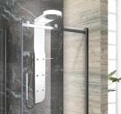 Aquatek KRETA hydromasážny panel s mechanickou alebo termostatickou batériou