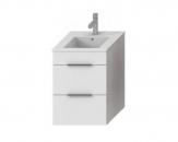 Jika CUBE skrinka s umývadlom 45 cm biela so zásuvkami  453622