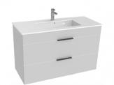 Jika CUBE skrinka s umývadlom 100 cm biela so zásuvkami  453652