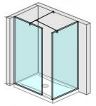 Jika PURE obdĺžnikový sprchový kút walk-in 120/130/140 cm do rohu
