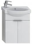 Jika TIGO skrinka s umývadielkom 45 cm s otvorom pre batériu vľavo biela 455102