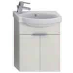 Jika TIGO skrinka s umývadielkom 45 cm s otvorom pre batériu vľavo creme 455102