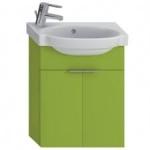 Jika TIGO skrinka s umývadielkom 45 cm s otvorom pre batériu vľavo zelená 455102