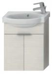Jika TIGO skrinka s umývadielkom 45 cm s otvorom pre batériu vpravo creme 455103