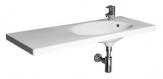 Jika TIGO umývadlo 100 cm nábytkové  asymetrické pravé biele 812219