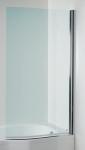 Jika TIGO vaňová zástena 150x80 cm zakrivená pravá