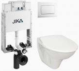 Jika komplet WC: Modul + závesné WC + plastové sedátko + ovlád. tlačítko