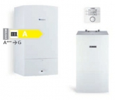 Junkers PREMIUM PLUS kondenzačný kotol ZSB 14/22-3 CE + zásobník W65OBC + termostat CW 100