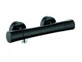 Kludi ZENTA termostatická sprchová batéria čierna/chróm