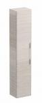 Kolo TRAFFIC bočná skrinka vysoká bielený jaseň