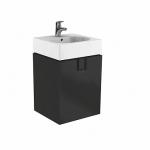 Kolo TWINS skrinka pod umývadlo 50 cm s dvierkami čierna matná 89485