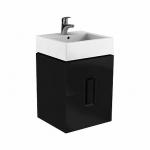 Kolo TWINS skrinka pod umývadlo 50 cm s 2 zásuvkami čierna matná 89491