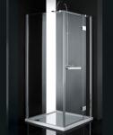 Aquatek CRYSTAL A3 štvorcový sprchovací kút 90 cm