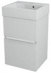 LARGO skrinka s umývadlom 40 cm biela