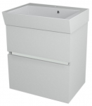 LARGO skrinka s umývadlom 60 cm biela