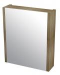 LARITA zrkladlová skrinka 60 cm dub graphite