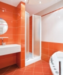 Aquatek LUX B2 otváracia čelná stena 60, 70, 80, 90 cm