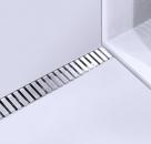 Alcaplast LINE 650 - 1150 L nerezový rošt lesklý  70 - 120 cm
