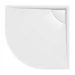 Polysan LUSSA štvrťkruhová sprchová vanička 90 cm