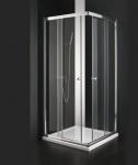 Aquatek MASTER A4 štvorcový sprchovací kút 80-90 cm